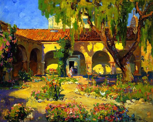 Franz Bischoff Paintings Mission