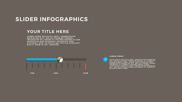 Free PowerPoint Template with Slider Infographics Slide 2