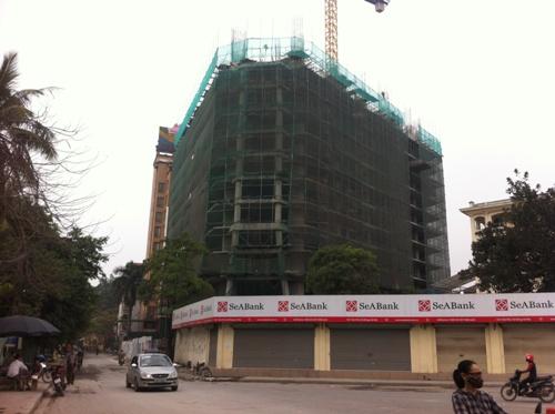 Tiến độ thi công chung cư Tháp doanh nhân
