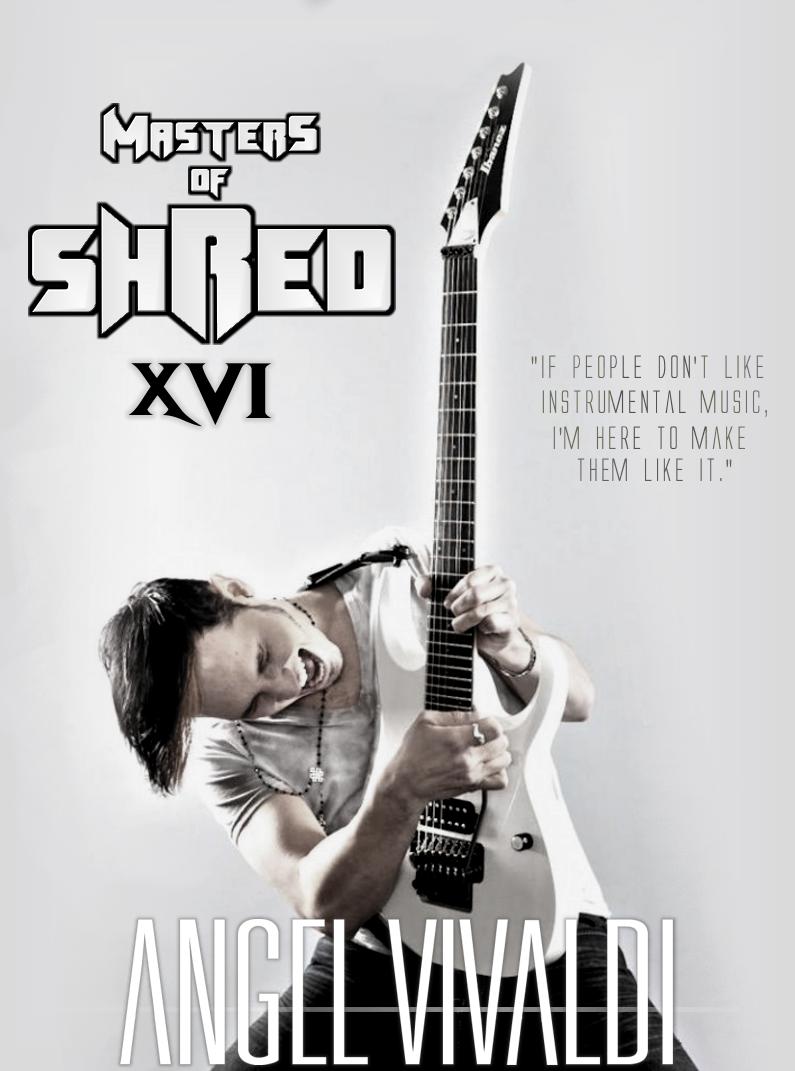 Evolution Rock Metal Podcast: Masters Of Shred 16 - JUNE 30