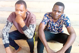 Video: 2 church guards disgrace in public for allegedly stealing pastor's daughter's panties