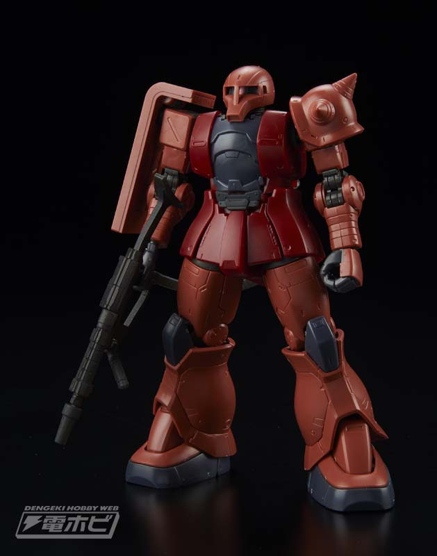 HG 1/144 MS-05 Char's Zaku I [Gundam The Origin] Sample Images by Dengeki Hobby