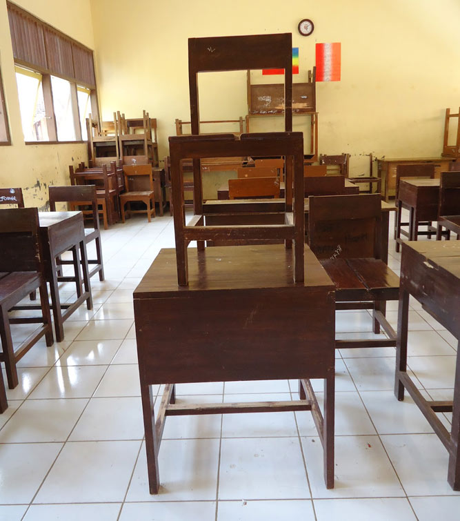 Teak School Furniture