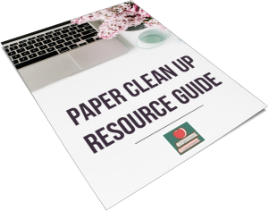 Download the FREE Paper Clean Up Resource Guide!