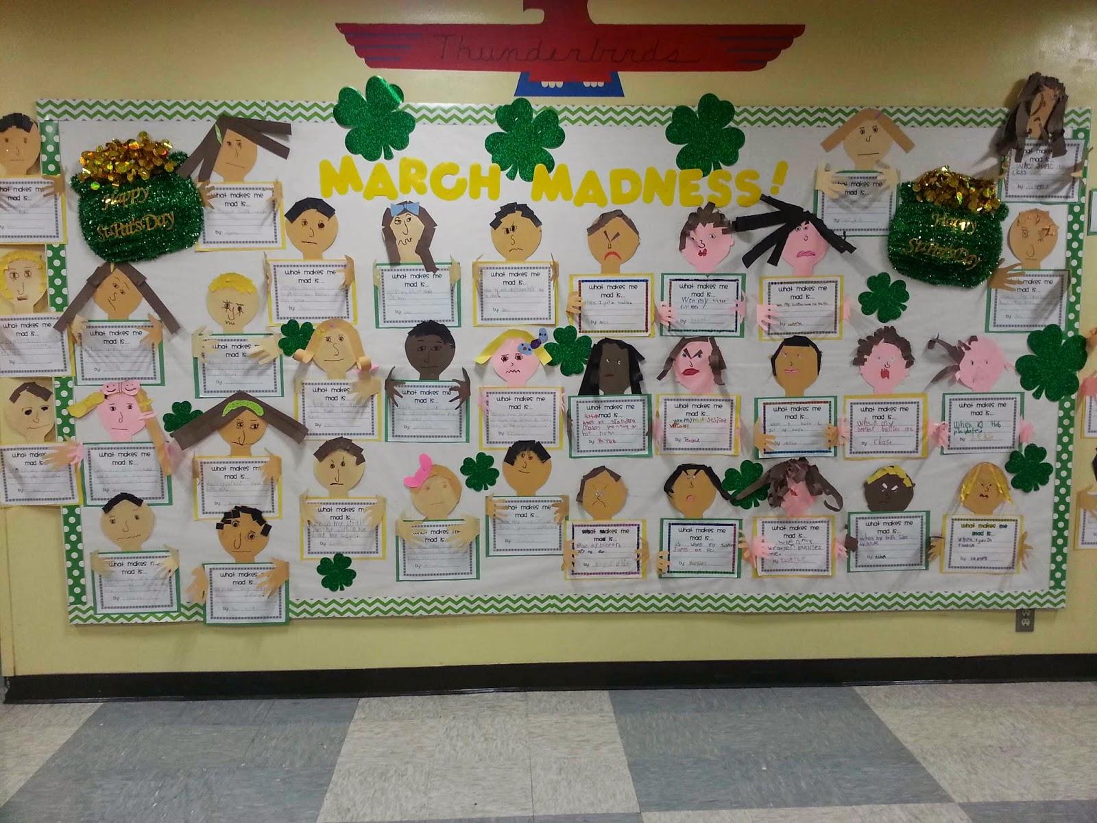 Preschool March Bulletin Board Ideas