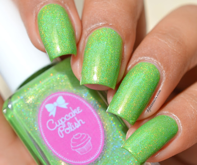 Cupcake polish I'm A Soccer For Green