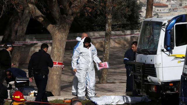 Ataque com caminhão deixa pelo menos quatro mortos em Jerusalém