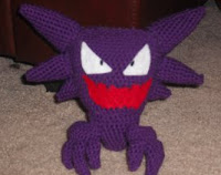 PATRON HAUNTER (POKEMON) AMIGURUMI 1828