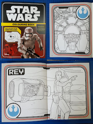Egmont Star Wars colouring book review