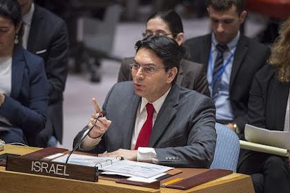 Israel Larang utusan PBB Kunjungi Tepi Barat