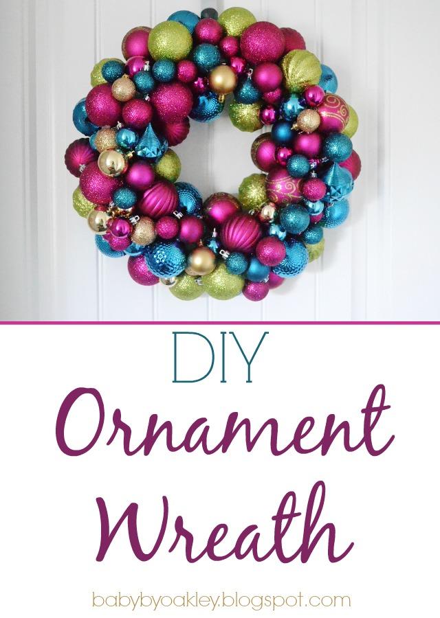 Diy Ornament Wreath Baby By Oakley