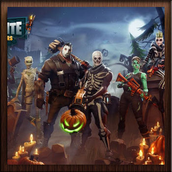 Fortnite Battle Royale Special Halloween - Avatar en HD