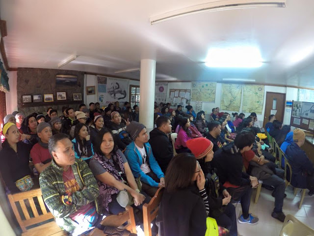 Orientation at the DENR Station - Mt. Pulag