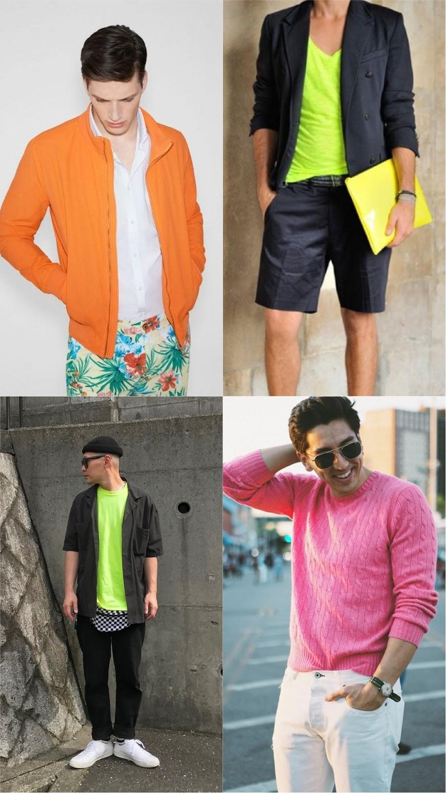 tendencias-moda-masculina-primavera-verao-2019-blog-tres-chic-look-neon-florescente