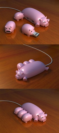 Unusual USB Hubs and Creative USB Hub Designs (15) 10