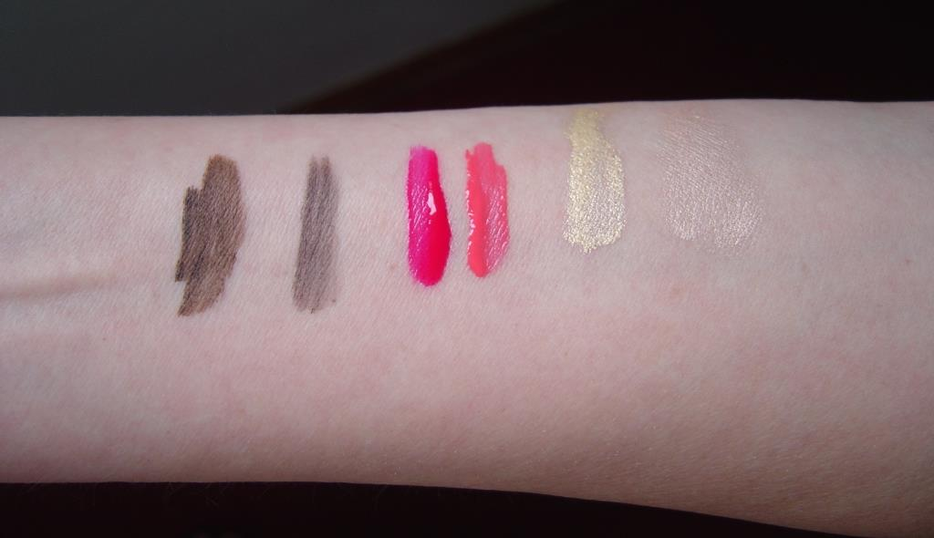 Touch in SOL Six cosmetic swatches