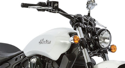 2016 Indian Scout Sixty Cruiser Motorcycle side look pose