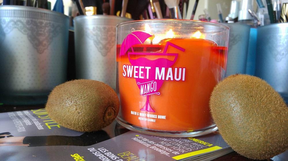 Bath and Body Works : Bougie Sweet Maui Mango