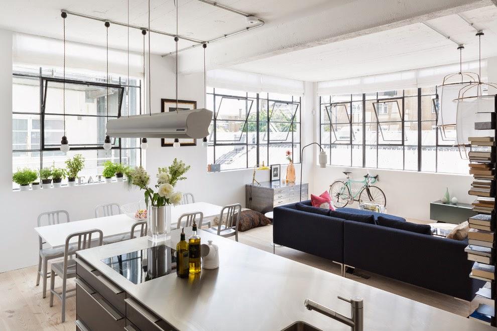 Industrial Modern Apartment Interior Design