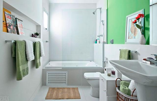 70 Ideas de diseño moderno de baños pequeños