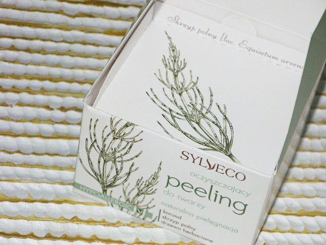 Oczyszczający peeling do twarzy, Sylveco