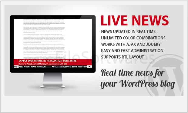 Live News WordPress Plugin
