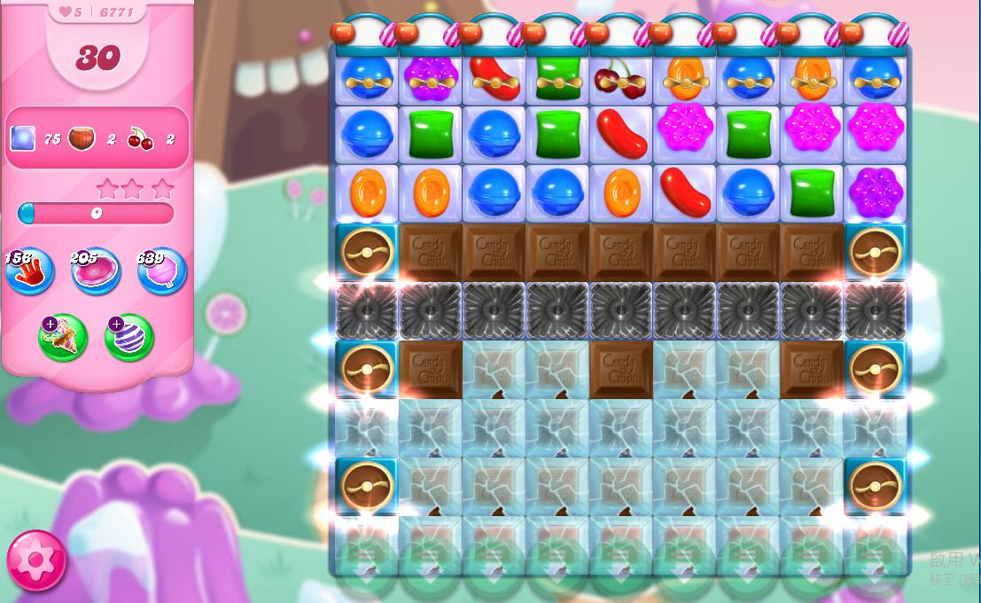 Candy Crush Saga level 6771