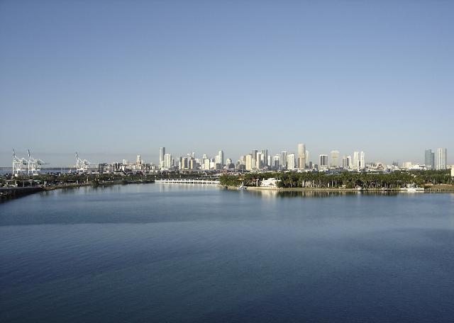 Lago de Miami em Dezembro
