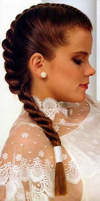 Gambar model rambut kepang 31