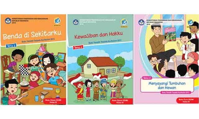 Buku Tematik Kelas 3 Kurikulum 2013 Revisi 2018