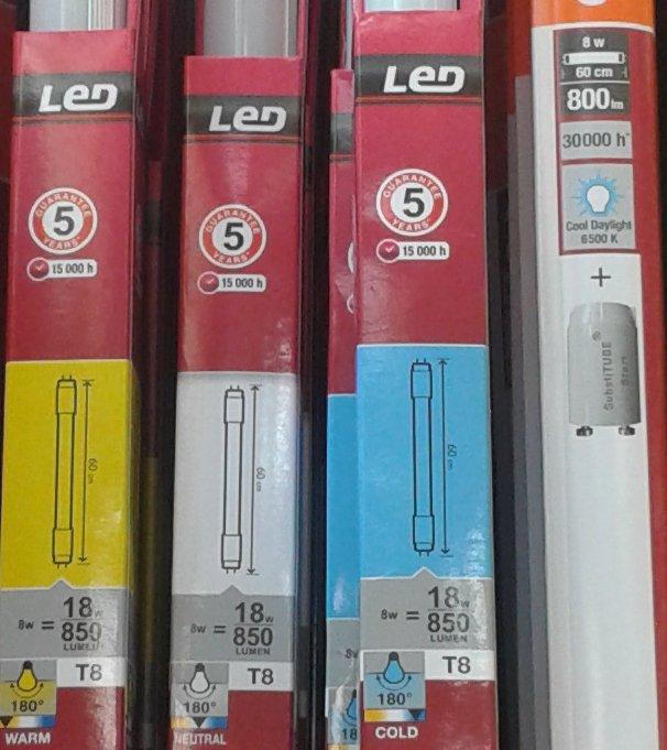 Bombillas de bajo consumo ahorro o timo opini n nuevos for Tubos led t8 leroy merlin