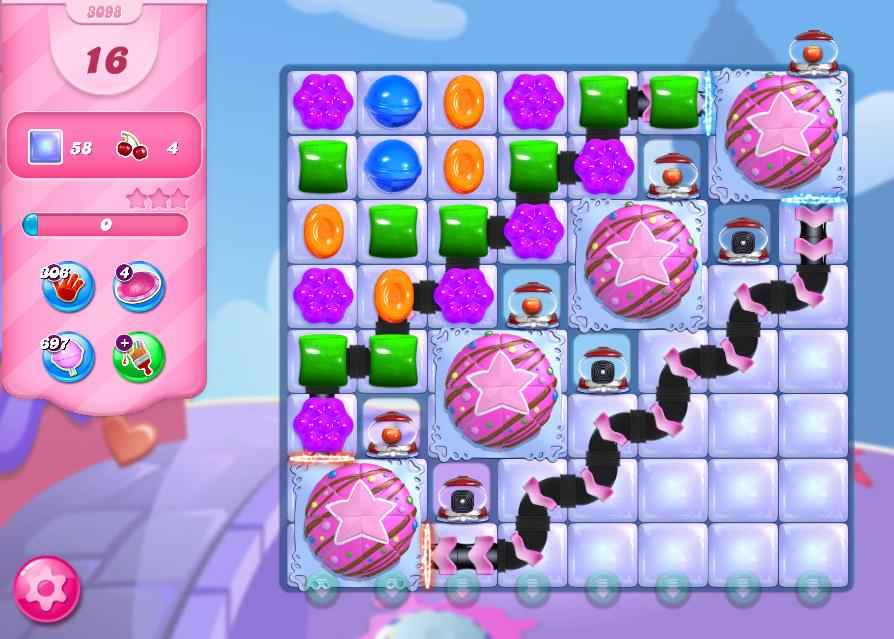 Candy Crush Saga level 3098