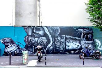 Sunday Street Art : ERTPK - rue de la Fontaine-au-Roi - Paris 11