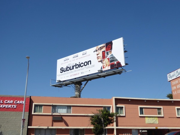 Suburbicon film billboard