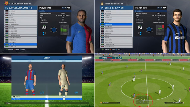 PES 2017 Classics Era Teams v7.0 For PTE Patch 2017 5.3 by Fast Eagle