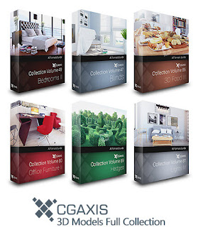 CGAxis 3D Models Full Collection