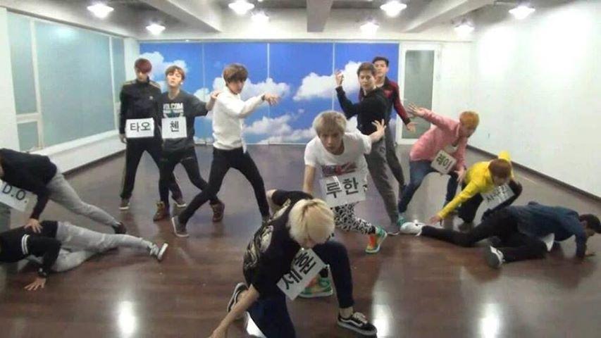 KPop Dance Version: EXO - Wolf (dance practice)