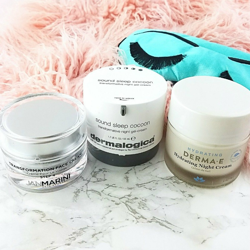 My Three Current Favorite Night Creams for Dry/Maturing Skin | Save - Spend - Splurge 1