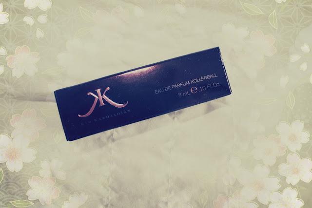 Kim Kardashian perfume rollerball sample