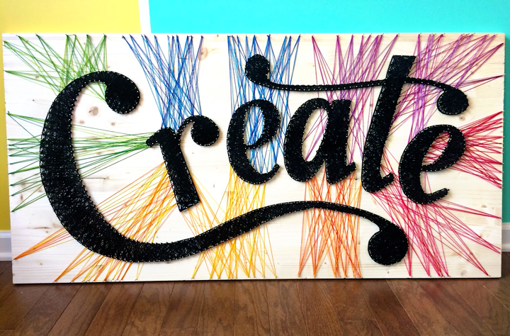 the one with create string art paige taylor evans