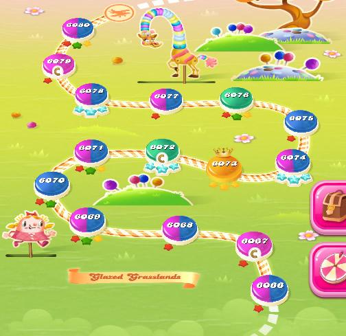 Candy Crush Saga level 6066-6080