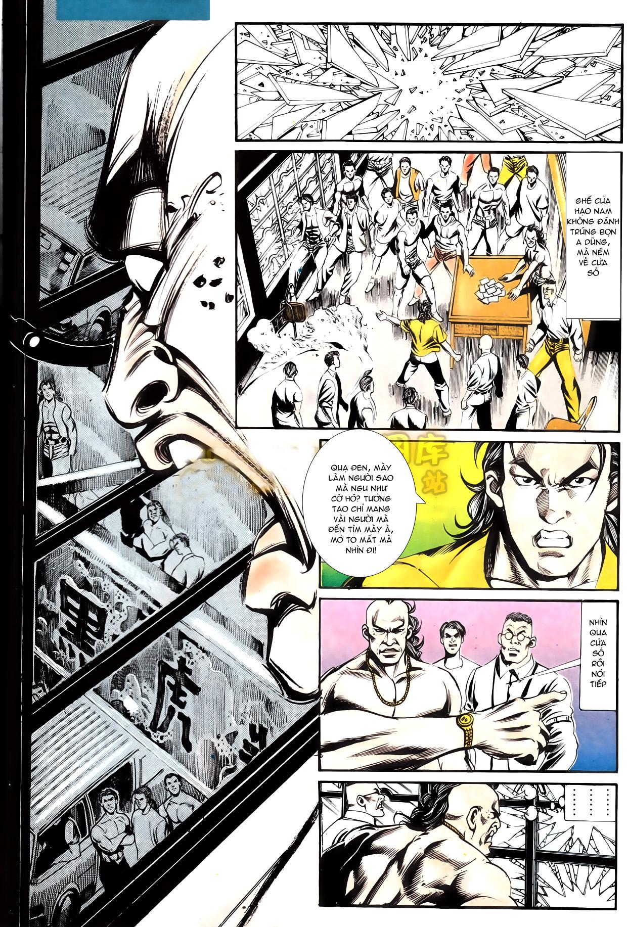 Người Trong Giang Hồ chapter 164: hạo nam chiến quạ đen trang 20