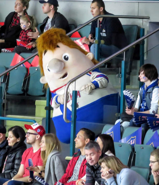 St. Petersburg SKA ice hockey team mascot