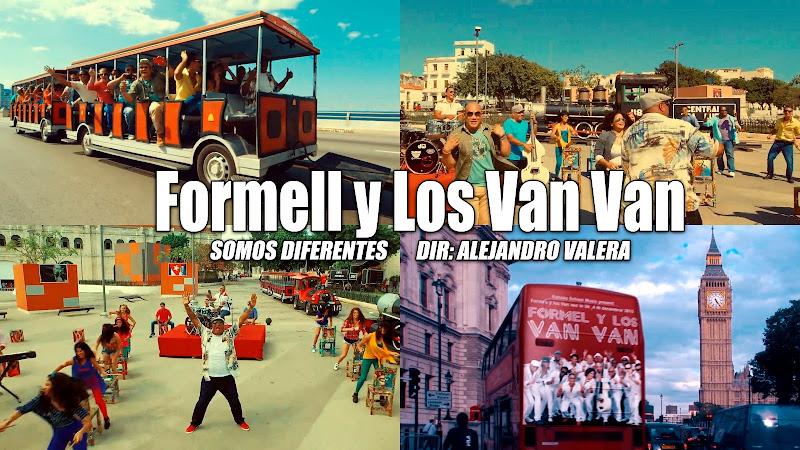 Formell y Los Van Van - ¨Somos Diferentes¨ - Videoclip y Making-of - Dirección: Alejandro Valera. Portal del Vídeo Clip Cubano
