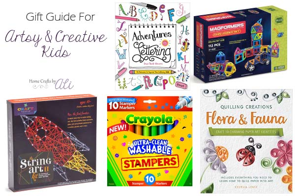 gift guide artistic and creative child or tween