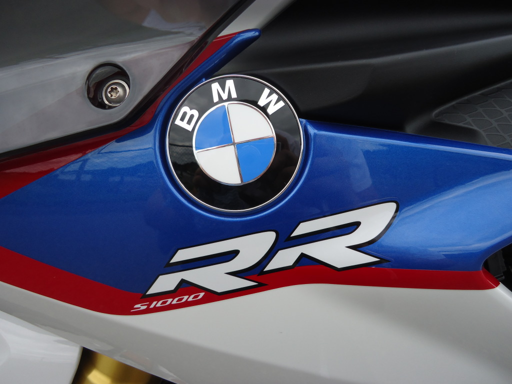 S1000rr Logo Decals Stickers For Bmw S1000rr Old Logo Pair
