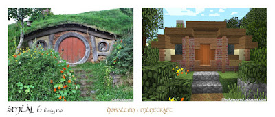 minecraft hobbiton woody end smial