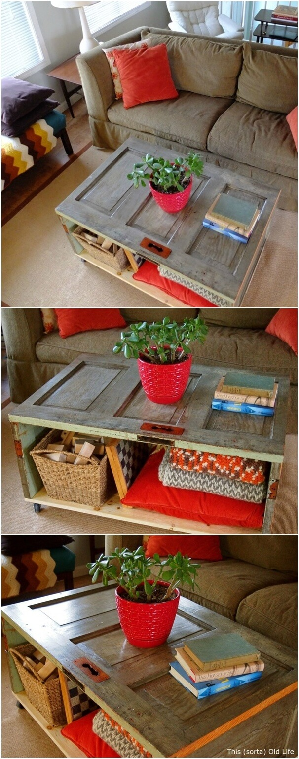 33 Artistic And Practical Repurposed Old Door Ideas Do