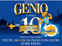 Logo Gioca con Decò e vinci anche buoni spesa Amazon, e premi anche da 60.000 euro