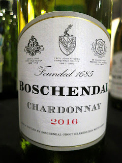 Boschendal 1685 Chardonnay 2016 (88 pts)